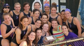 Varsity women's water polo sets new record