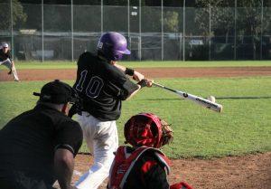 Catcher senior Ryan Sullivan, seen here during his sophomore year. Sullivan is a four-year varsity starter.