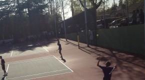 Men's tennis victorious over Mount Eden
