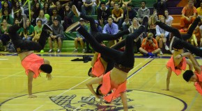 Spring Rally encourages class spirit
