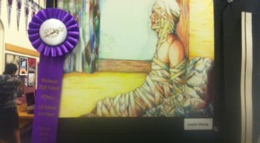Artists achieve awards at the all-school art show