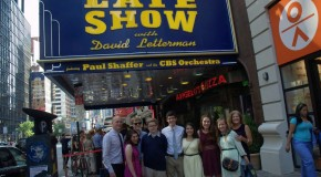 Photo Galleries: Birdcalling contest winners on Letterman show
