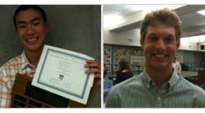 Valedictorian and Salutatorian announced at Senior Awards Night