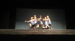 Dancers perform in the last showcase of the year