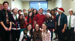 Troubadors spread holiday cheer