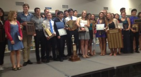 Seniors honored at awards night