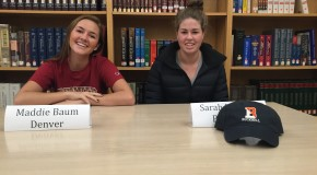 Student atheletes signed to play sports in college