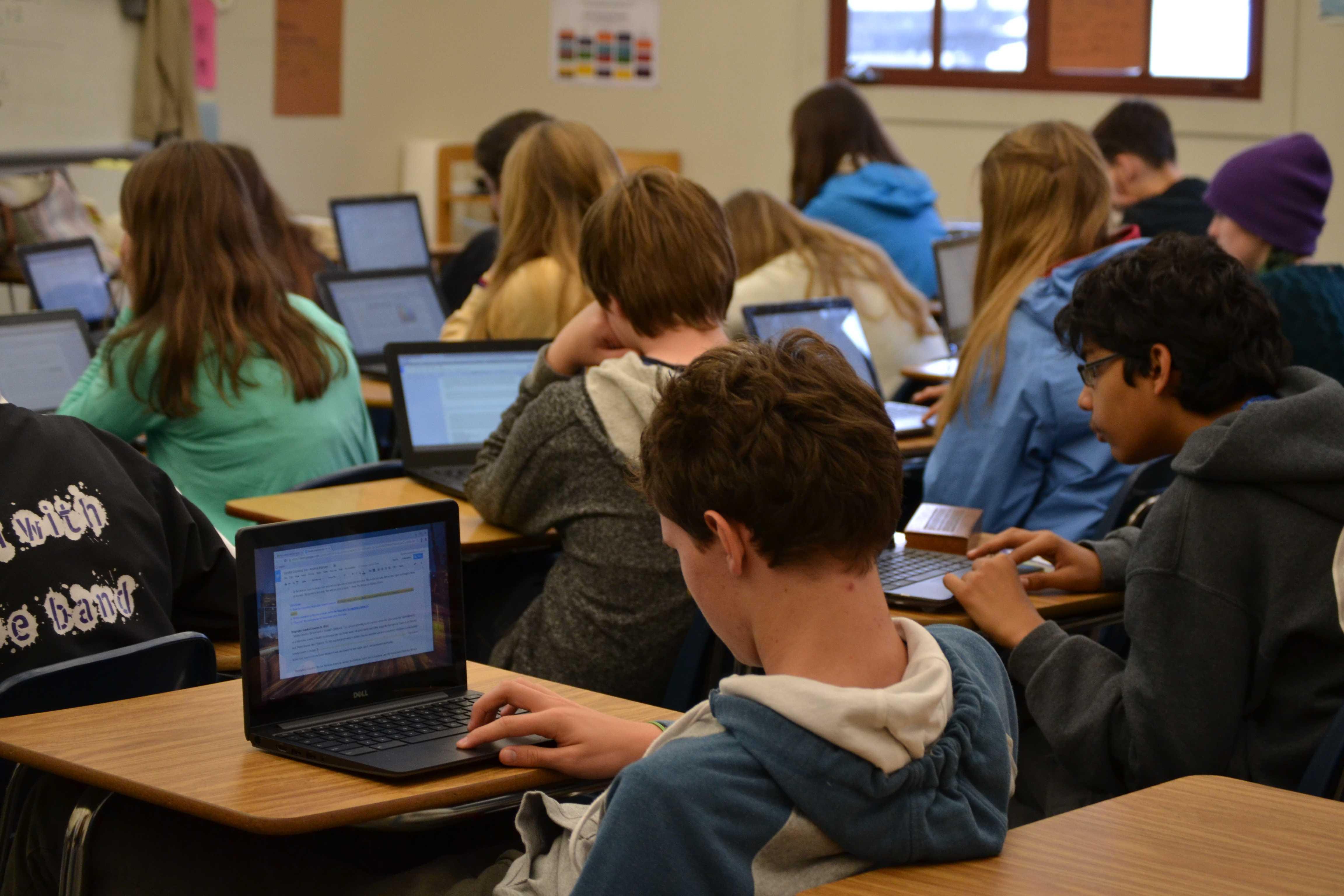Chromebooks Put New Shine On Classroom Experience | The Piedmont ...