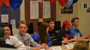 Athletes sign to play at colleges