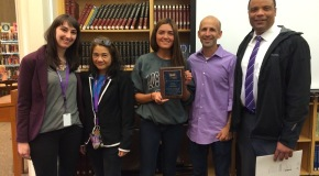 PHS receives 2015 Top AFS School Award