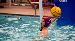 Exchange student makes a splash on water polo