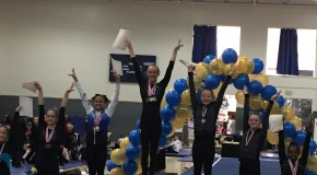 Gymnast sophomore Kylie Hilton raises the bar