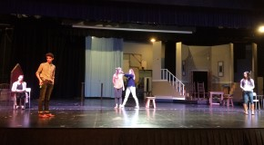 Advanced acting prepares for March plays