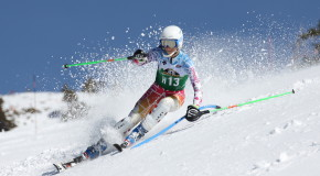 Morgan Ellis skis through winter at Sugar Bowl
