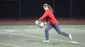 Ellis dives into role as starting varsity goalkeeper