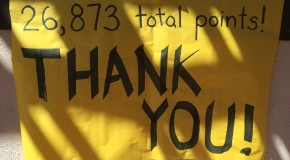 Students raise $8,763 for food bank