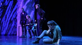 Advanced acting travels to the future in 'Antigone'