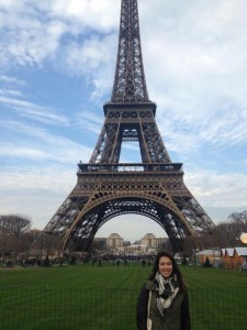 Rachel Frost explored the city of Paris during her gap year.