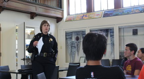 Students and Police Chief Goede contribute to Title IX discussions