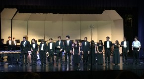 Jazz and Symphonic Band team up for last concert of year