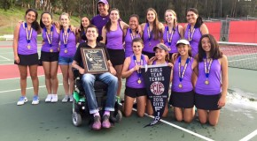 Women's tennis strikes gold at NCS