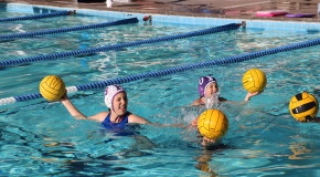 Women's water polo and volleyball organize clinics