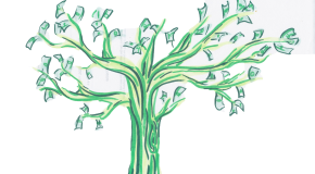 Cold hard cash: money doesn't  grow on trees