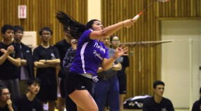 Badminton makes a racquet in Division I