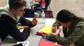 PCSC builds relationships with Burmese students through tutoring service