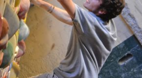 Student athletes get a grip on the climbing community