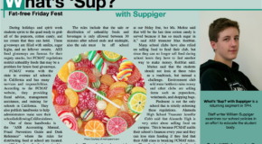 What 'Sup with Suppiger: Fat-free Friday Fest